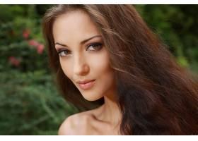 女人,安娜,Sbitnaya,模特,乌克兰,脸,特写镜头,棕色,头发,长的,头