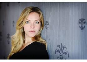 女人,Eloise,芒福德,女演员,一致的,州,白皙的,蓝色,眼睛,女演员,