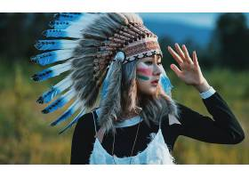女人,当地的,美国的,女孩,妇女,亚洲的,化妆品,羽毛,壁纸,