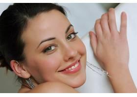 女人,Lorena,加西亚,成年人,模特,脸,特写镜头,微笑,耳环,壁纸,