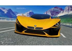 车辆,宝马,Mt-58,宝马,超级跑车,设计,概念,汽车,3D,壁纸,