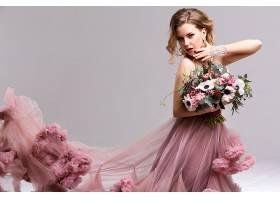 女人,模特,模特,女孩,酒香,花,妇女,口红,黑发女人,耳环,粉红色,