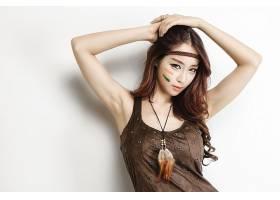 女人,亚洲的,妇女,女孩,黑发女人,棕色,眼睛,模特,壁纸,(1)