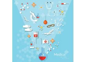 医疗卫生矢量装饰插画设计