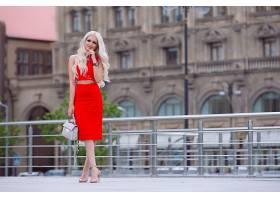 女人,模特,模特,妇女,女孩,红色,穿衣,白皙的,壁纸,
