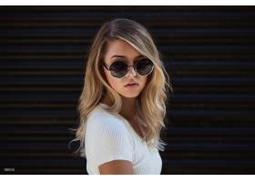 女人,模特,模特,妇女,女孩,太阳镜,白皙的,壁纸,(1)