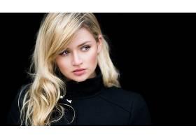 女人,模特,模特,妇女,女孩,脸,白皙的,蓝色,眼睛,壁纸,(1)