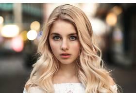 女人,模特,模特,妇女,女孩,脸,白皙的,蓝色,眼睛,壁纸,(2)