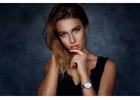 女人,模特,模特,蓝色,眼睛,看,戒指,妇女,女孩,壁纸,