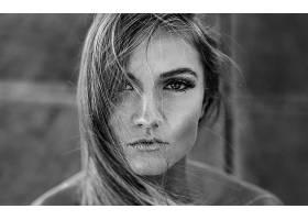 女人,脸,妇女,模特,女孩,黑色,白色,壁纸,(13)