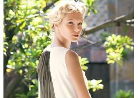 女人,过时的,Sudziute,模特,立陶宛,模特,白皙的,蓝色,眼睛,辫子,