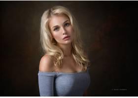 女人,模特,模特,妇女,女孩,白皙的,蓝色,眼睛,壁纸,(8)