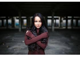 女人,安吉莉娜,彼得罗娃,模特,乌克兰,妇女,模特,女孩,黑发女人,