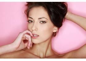 女人,安娜,Sbitnaya,模特,乌克兰,模特,脸,特写镜头,棕色,头发,棕
