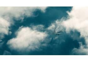 车辆,波音,747,飞机,波音,天空,云,壁纸,