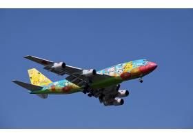 车辆,波音,747,飞机,波音,精灵宝可梦系列,飞机,乘客,飞机,壁纸,