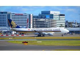 车辆,波音,747,飞机,波音,飞机,货物,飞机,悉尼,机场,车辆,壁纸,