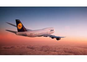 车辆,波音,747-8,飞机,波音,壁纸,(2)