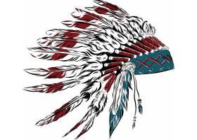 印第安人羽毛帽子