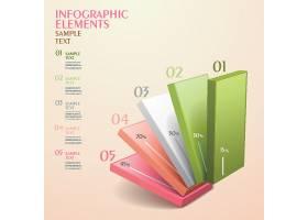 立体创意数据信息图表设计元素