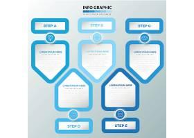 简约扁平化数据信息图表设计
