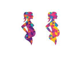 关爱孕妇形象创意LOGO设计