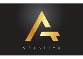 金属字母形象创意LOGO设计