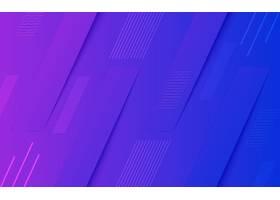 几何蓝紫色渐变创意背景素材
