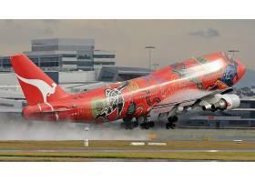 车辆,波音,747,飞机,波音,壁纸,