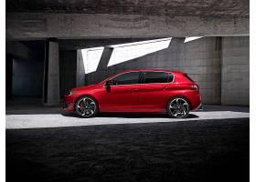 车辆,法国标致,308,法国标致,汽车,车辆,紧密的,汽车,红色,汽车,图片