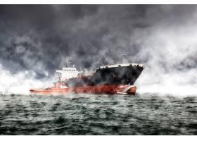 车辆,油轮,船,雾,海洋,壁纸,