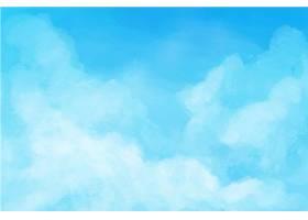 蓝天背景图片 (5)