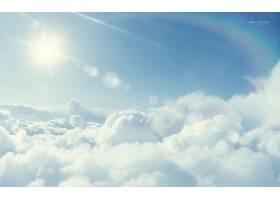 蓝天背景图片 (6)