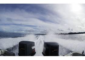 车辆,小船,风景优美的,放松,发动机,湖,天空,云,波浪,夏天,壁纸,图片