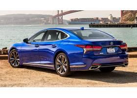 车辆,雷克萨斯,LS,雷克萨斯,雷克萨斯,LS500,奢侈,汽车,蓝色,汽车图片