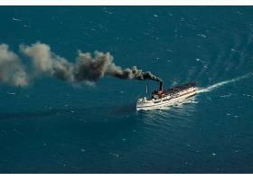 车辆,轮船,小船,烟,海洋,壁纸,