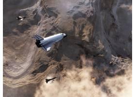 车辆,空间,航天飞机,空间,梭子,壁纸,(4)