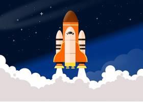 车辆,空间,航天飞机,空间,梭子,烟,艺术的,壁纸,