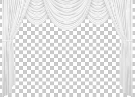 黑白图案,白色窗帘,白色窗帘PNG剪贴画角度,白色,室内设计,矩形,图片