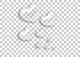 黑白模式,透明心装饰元素,七心PNG剪贴画的灰度照片爱,纹理,角,白
