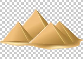 金字塔欧几里德,金字塔PNG剪贴画角,三角形,埃及,生日快乐矢量图