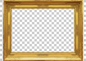 框架装饰艺术,相框背景,黄金木框架PNG剪贴画杂项,图像文件格式,