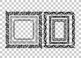 框架装饰装饰艺术,冰边界PNG剪贴画边框,框架,文本,矩形,单色,生