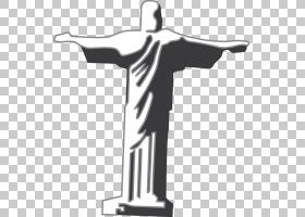 基督的救赎主,耶稣像物质PNG剪贴画建筑,单色,生日快乐矢量图像,