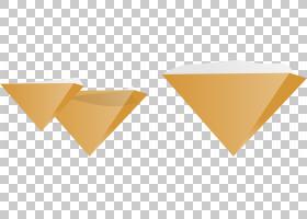 倒金字塔三角计算机文件,三倒金字塔PNG剪贴画三维,顶部,形状,情