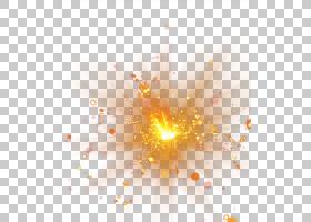 爆炸,射灯效果,橙色设计照片PNG剪贴画橙色,三角形,电脑壁纸,对称图片