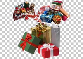礼品盒新年圣诞节,礼物在树堆下PNG剪贴画其他,圣诞节装饰,圣诞老