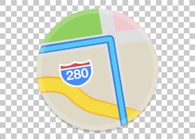 品牌材质黄色,地图1 PNG剪贴画材料,地图,oSXYosemite,按钮Ui系统图片
