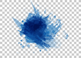 墨蓝色,蓝色墨水涂鸦PNG剪贴画墨水,电脑壁纸,对称性,世界,创业,图片