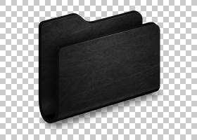 矩形黑色,文件夹黑色金属文件夹,黑色金属外壳PNG剪贴画角度,矩形